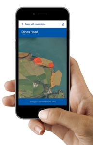 MC App marine code maps