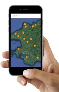 MC App viewing places